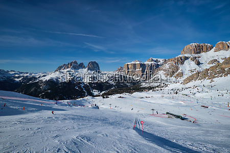 ski resort in dolomites italy