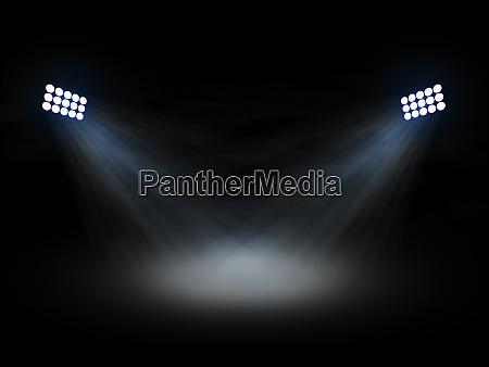 stadium theater floolights spotlights