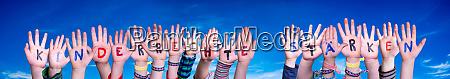 children hands kinderrechte staerken means strengthen