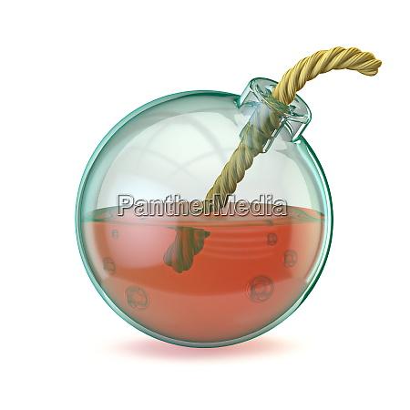 glass bomb 3d