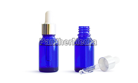 medicine drops in bottles with a