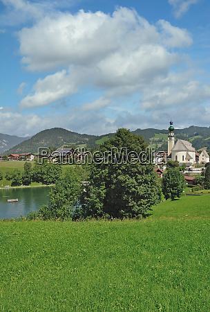 village of reith im alpbachtal tirol