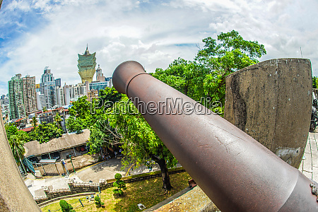 monte fort of cannon macau special