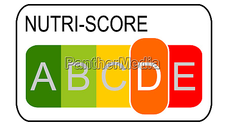 nutri score label level d 5