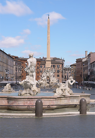 piazza navona and the four rivers