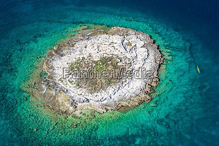 aerial view of otocic porer island