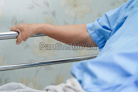 asian senior or elderly old woman