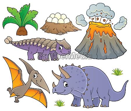 dinosaur topic set 9