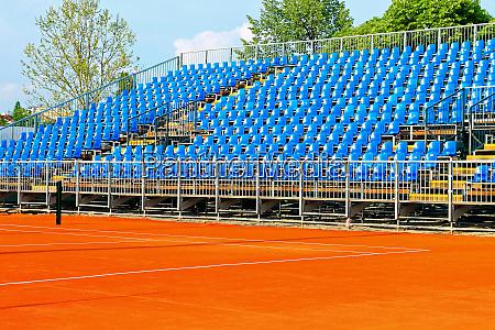 tennis court stands