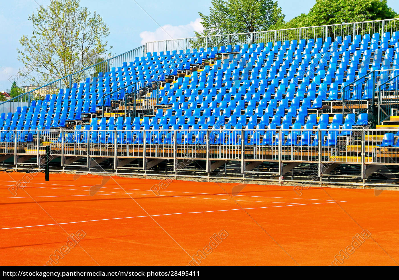 tennis, court, stands - 28495411