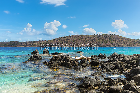 coki point beach in st thomas