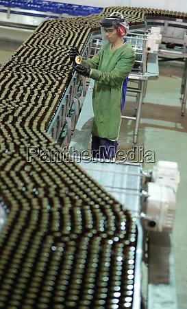 ambev brewery production line