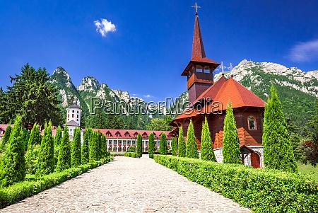 carpathian mountains busteni caraiman mt and