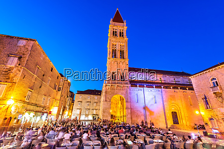 trogir croatia main square full