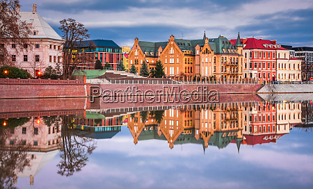 wroclaw poland cathedral island and