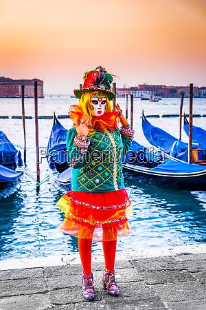 venice italy venice carnival at