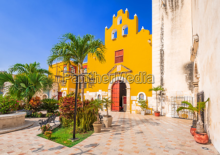campeche yucatan mexico cathedral our