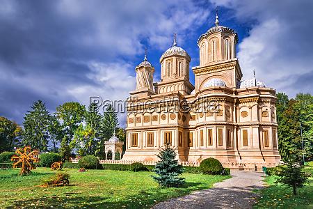 romania arges monastery legend of