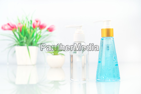 alcohol gel virus protection on dack