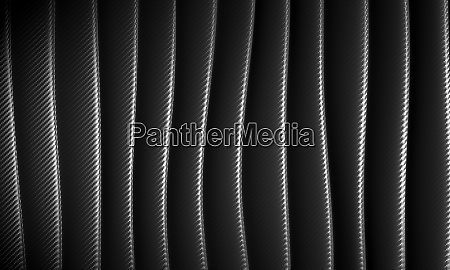 abstract wave background in carbon fiber
