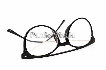 eye glasses classic frame black