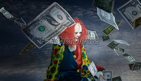 clown is increable even though it