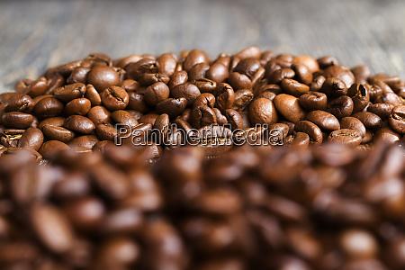 brown freshly roasted coffee