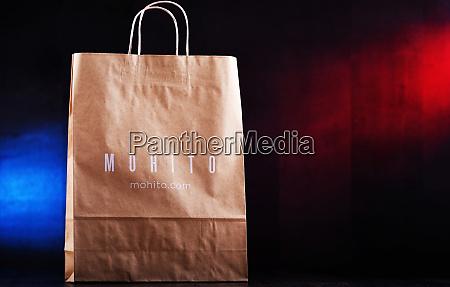original mohito paper shopping bag