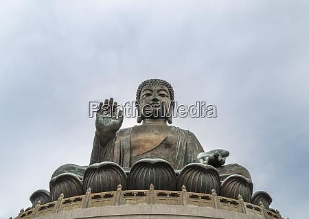 tian tan big buddha statue hong