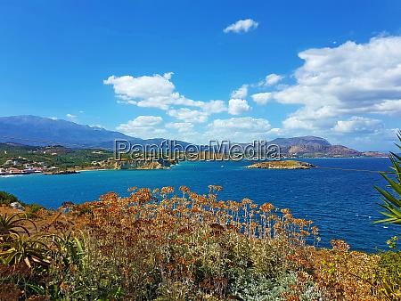 surroundings of almyrida crete