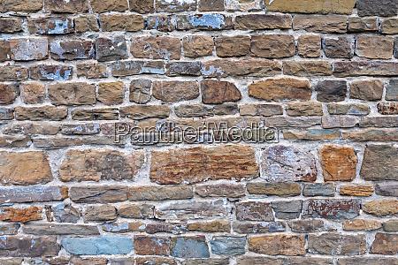 medeival stone wall
