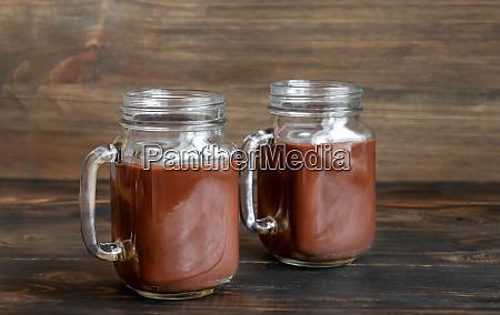 jars of hot chocolate