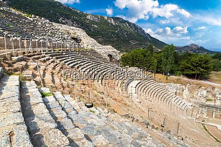 amphitheater coliseum in ephesus