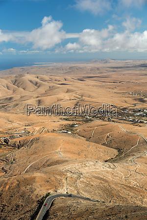 panoramic view on