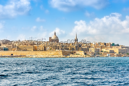 cityscapes of valletta the capital