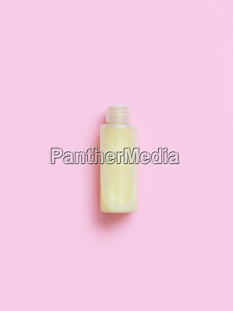 reusable bottle with yellow liquid substance