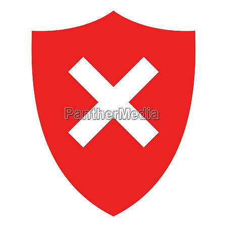 crossing and shield