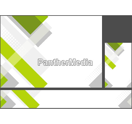 hi tech corporate abstract background set