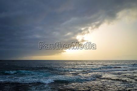 ocean view in santo antao island