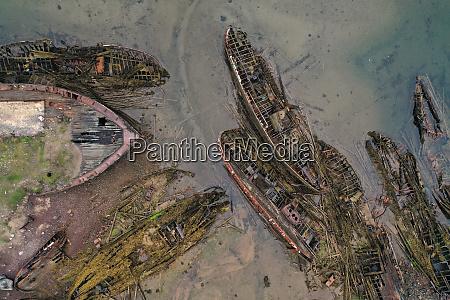 ship, graveyard, in, teriberka, , kola, peninsula, - 28556125