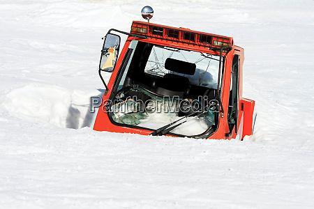 snow bound cabin