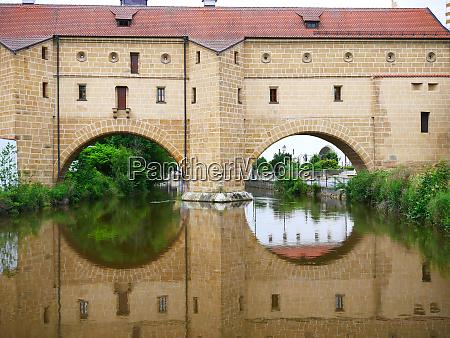 amberg city goggles bavaria city historic