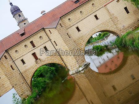 amberg city goggles river vils bavaria