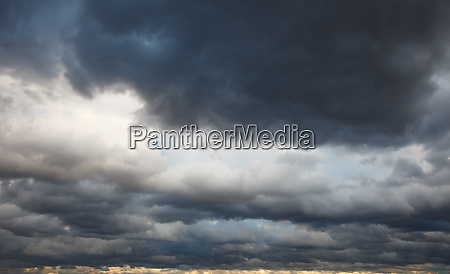natural background stormy sky
