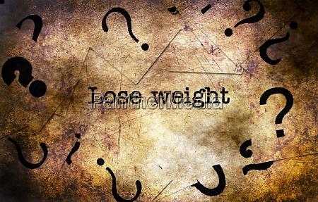 lose weight grunge concept