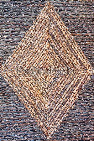 geometric rattan