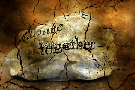 together failure grunge concept