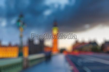 big ben at dusk london