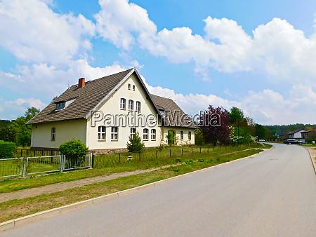 villages in the beautiful uckermark
