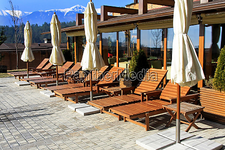swimming pool lounges